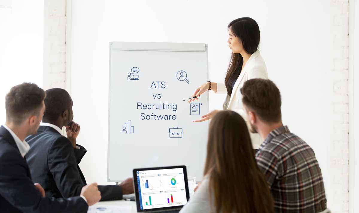 ATS VS Recruiting Software: What's the Difference?